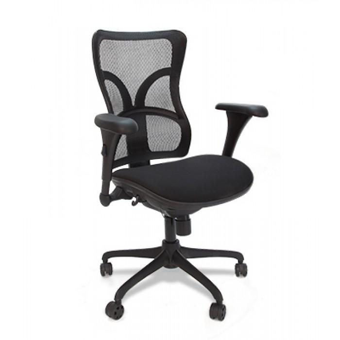 Кресло руководителя Chairman 730 сетка/ткань черный