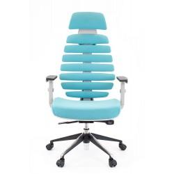 Компьютерное кресло Everprof Ergo Grey Ткань Бирюзовый