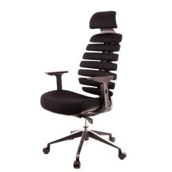 Компьютерное кресло Everprof Ergo Black Ткань Черный