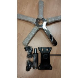 Комплект для ремонта (250кг) Крестовина, Газлифт, механизм качания, ролики