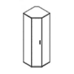 Шкаф СТ-1.10 груша, орех, ясень, крем, голубой