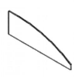 Экран ЭКР-3.1 клен-метал, венге-метал