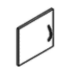 Дверь для антресолей серый SD-1AR/L