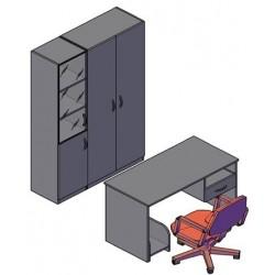 Комбинация мебели №1 легно